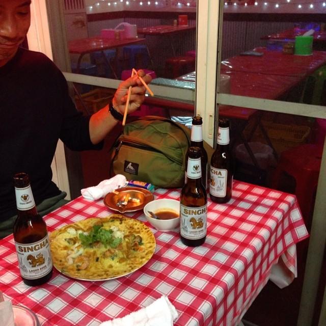 久々の浅草地下街。タイに行ったばっかりですが、モンティーでまずは腹ごしらえ!