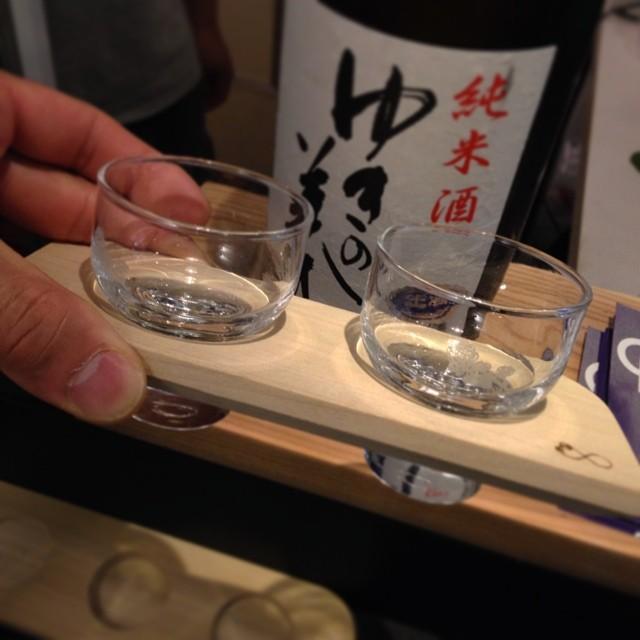 コメジルシ 日本酒飲み比べ